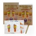 Thai Foot Reflexology for Health (Second Printing) : นวดเท้ากดจุดเพื่อสุขภาพ ฉบับไทย-อังกฤษ