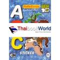 BEN 10 หัดคัดอังกฤษ พร้อมคำศัพท์ ABC Sticker